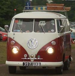 The Volkswagon Campervan The Designed World