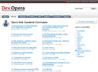 Opera Web Standards Curriculum