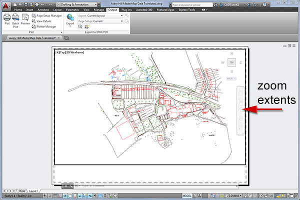 Zoom Extents  Where Did Everything Go  CAD Tips