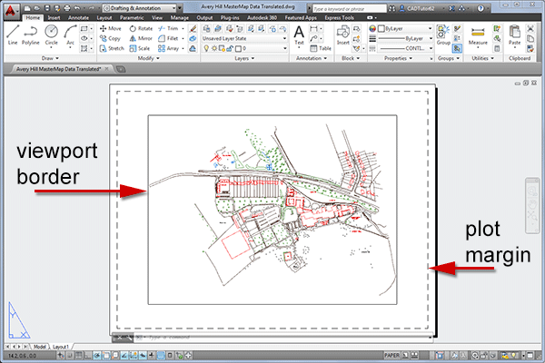 Plotting scaled drawings with AutoCAD 2011 - 2014